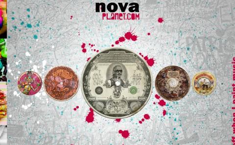 Moodboard Radio Nova by Fabio Soares