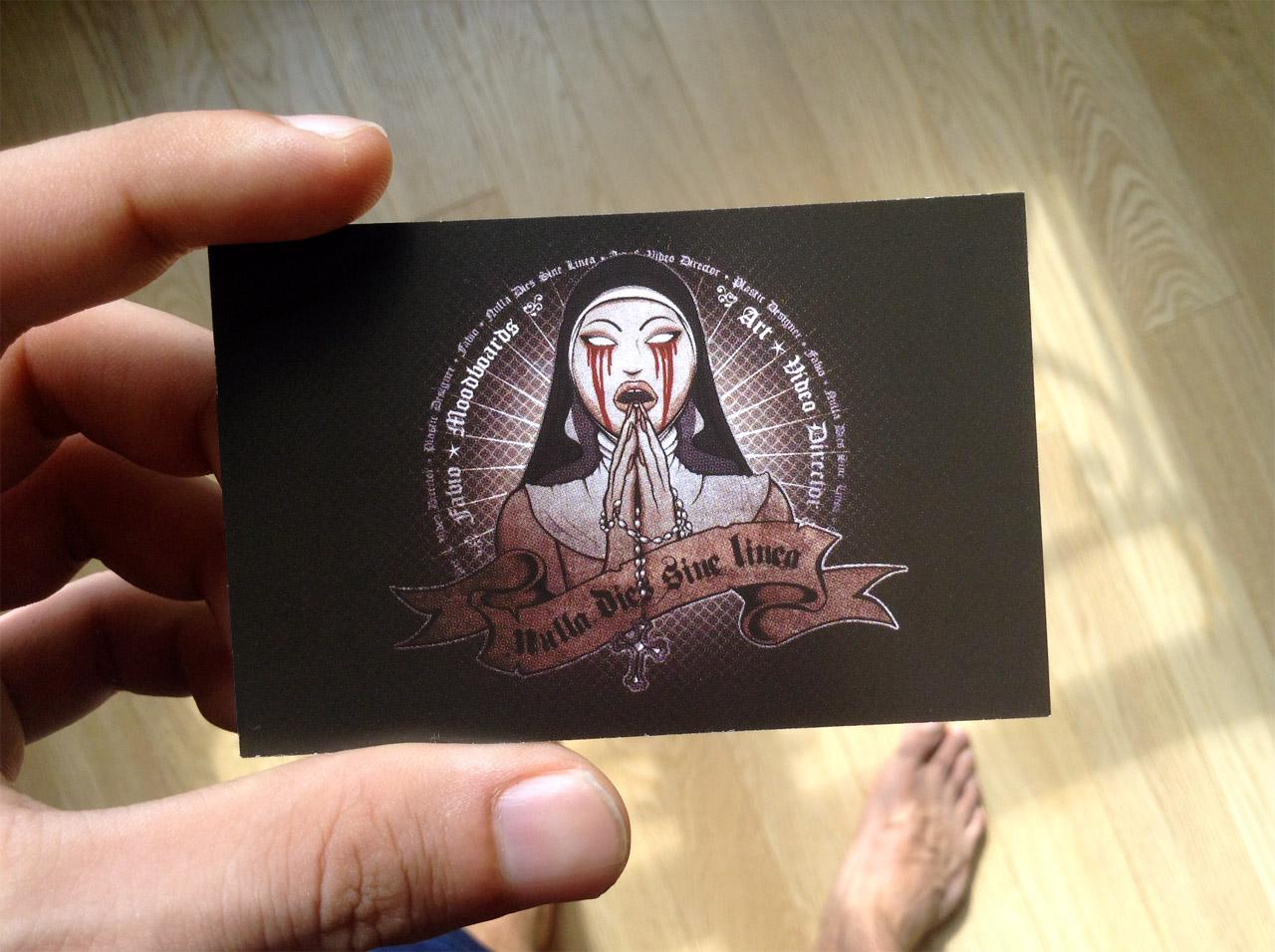 Fabio Soares new visiting card