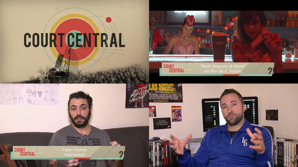 Court Central on Orange Cinema Series, about Fabio Soares and Mike Zonnenberg