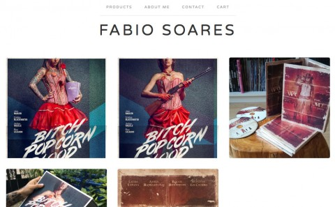 Fabio Soares, online shop on bigcartel