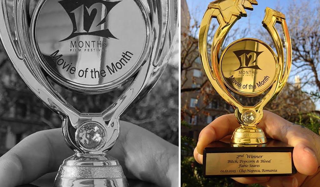 12MFF - award Bitch, Popcorn & Blood