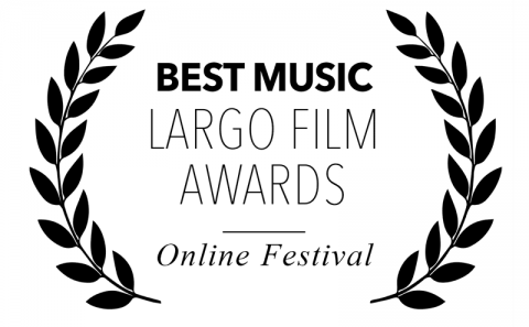 Best Music award, at Largo Film Awards, for Bitch, Popcorn & Blood. Music by Junksista, Faith & Spirit and Jane Badler