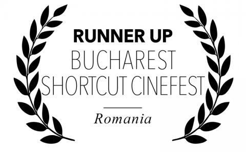 Runner Up, at Bucharest Shortcut CineFest, Romania, for Bitch, Popcorn & Blood