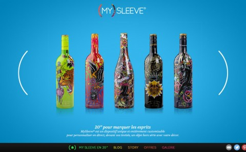 MySleeve digital design by Fabio Soares