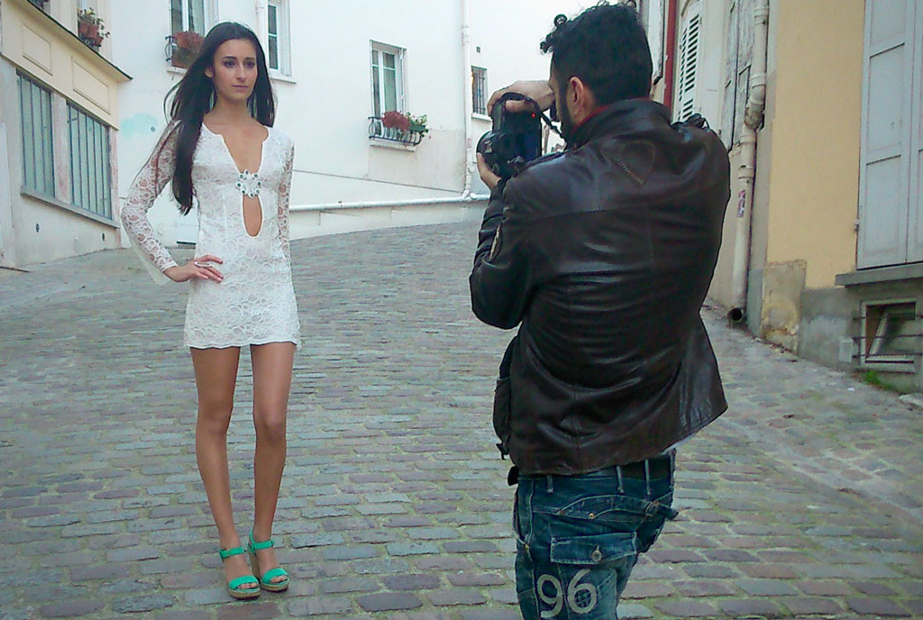 Shooting, Benedicte Beau by Fabio Soares, with Camille Brenier