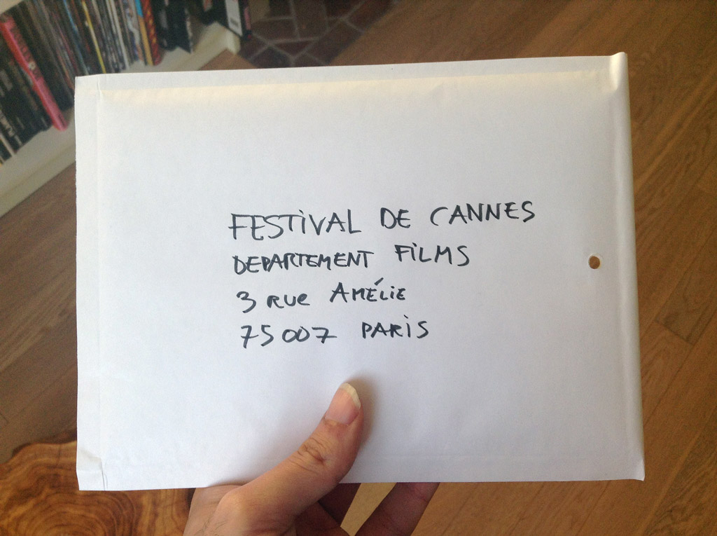 Elise Gaiardo and Fabio Soares's short film, on the way to the Festival de Cannes?