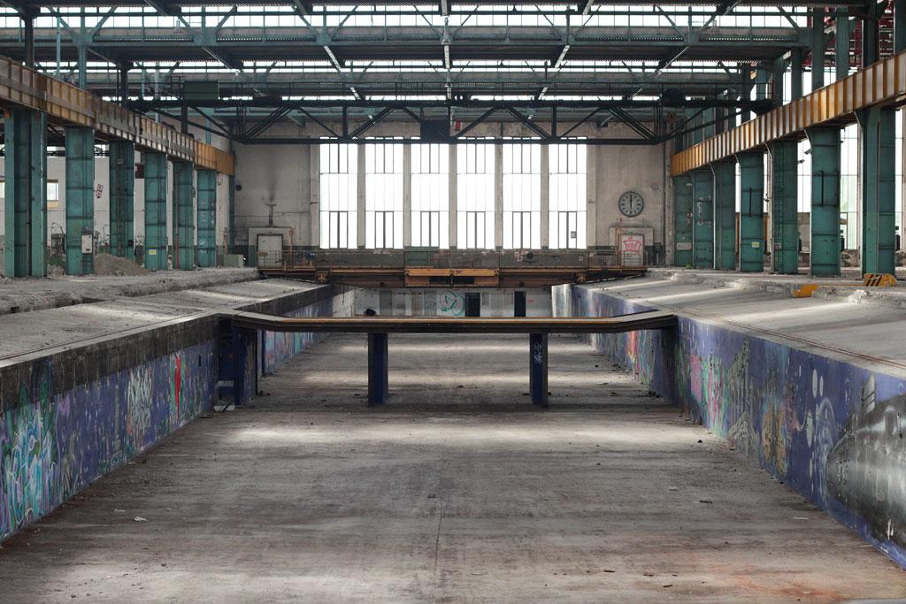 Junksista next video location in Munich, with Fabio Soares