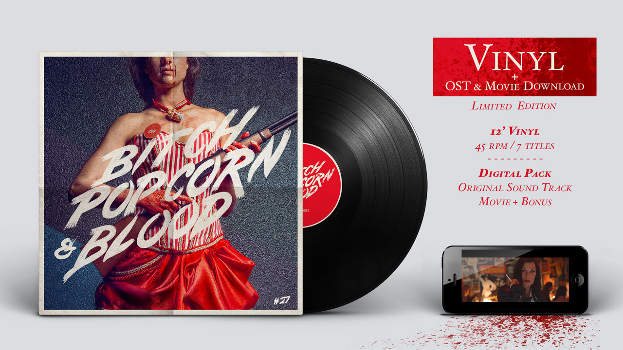 Bitch, Popcorn & Blood OST vinyl