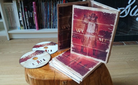Woman With No Name collector dvd, a digipack including the short movie, by Fabio Soares, and the OST by Junksista