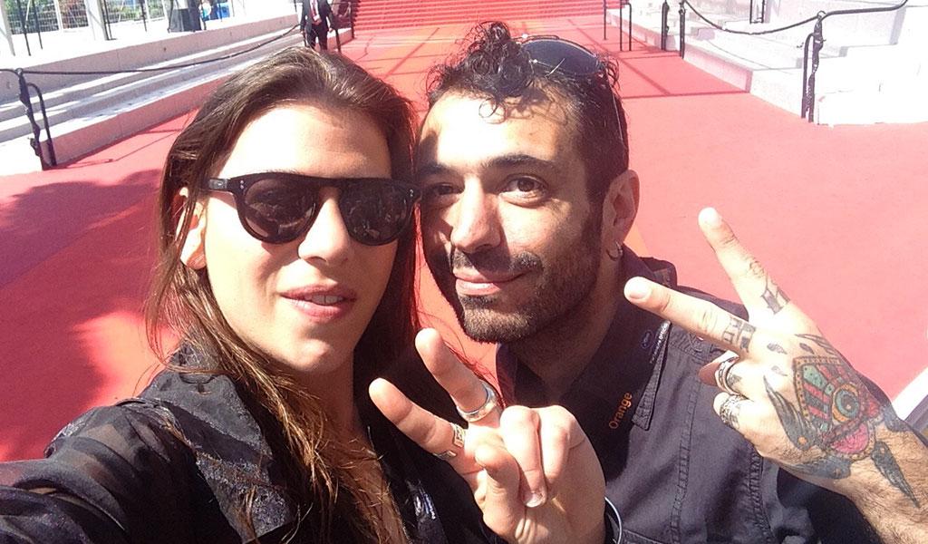 Cannes Festival 2016 - Célia Paysan & Fabio Soares