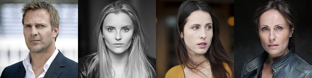 Casting I Will Crush You and Go To Hell: Mike Dopud, Petra Silander, Lise Gardo and Elisabeth Duda
