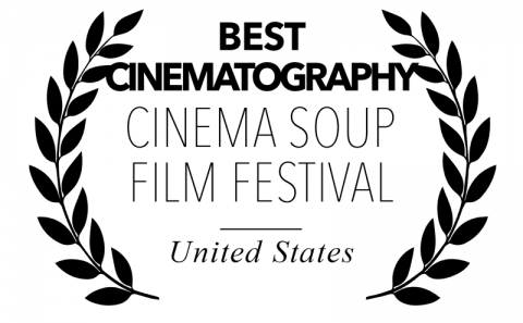 Best Cinematography - Cinema Soup Film festival, for Bitch, Popcorn & Blood