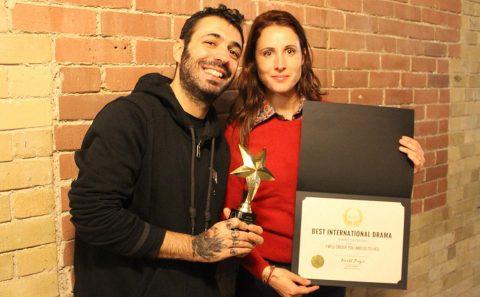 Fabio Soares et Toronto with Lise Gardo