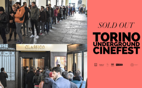 Sold Out at Turin Underground Cineast for I Will Crush You & Go To Hell