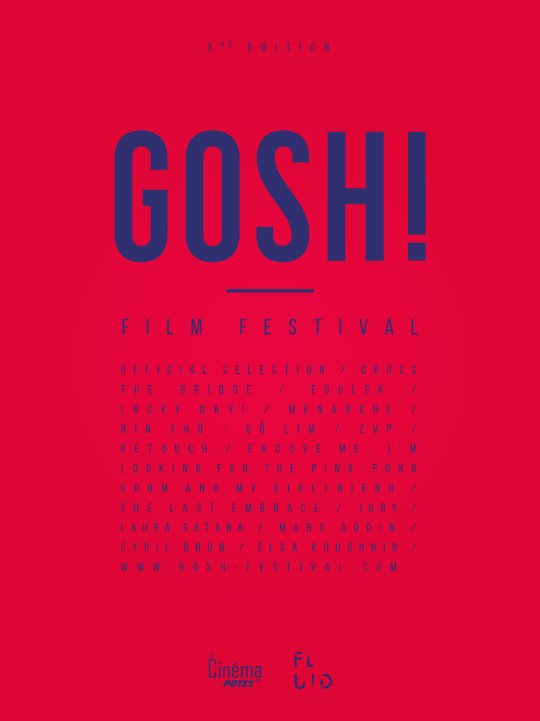 Poster GOSH! 3rd Edition by Fabio Soares & Magali Souart
