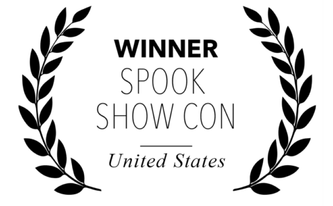 Spook Show Con - Winner for Bitch, Popcorn & Blood - US