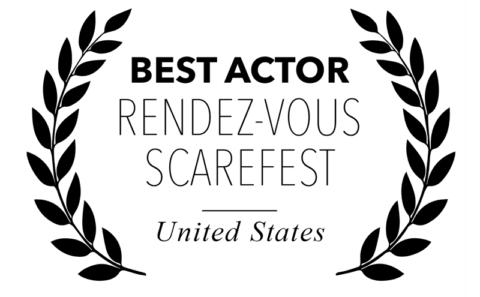 Rendez-vous Scarefest - Best Actor for Bitch, Popcorn & Blood