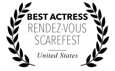 Rendez-vous Scarefest - Best Actress for Bitch, Popcorn & Blood