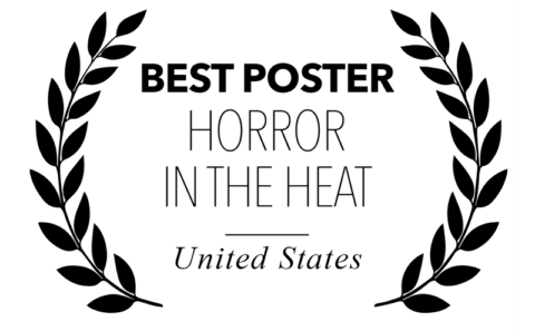 Horror in the Heat - best poster for Bitch, Popcorn & Blood