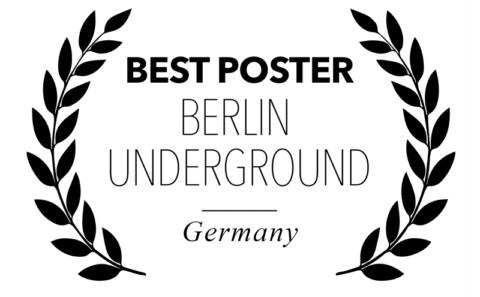 Berlin underground Film festival - Best Poster for Bitch, Popcorn & Blood