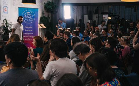 Fabio Soares at Meet The Talent / Laptop