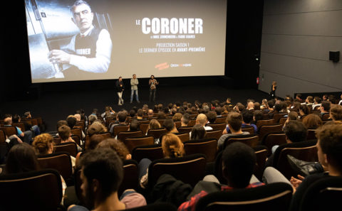 Screening Coroner Season 1 et UGC Paris