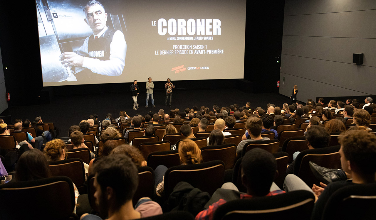 Screening Coroner Season 1 et UGC Paris