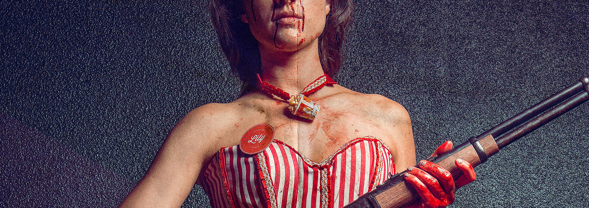 Bitch, Popcorn & Blood with Lise Gardo by Fabio Soares